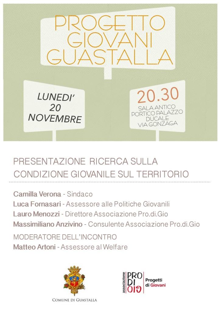 Progetto Giovani Guastalla